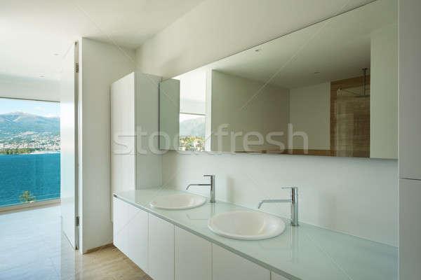 Interieur moderne badkamer huis detail deur Stockfoto © alexandre_zveiger