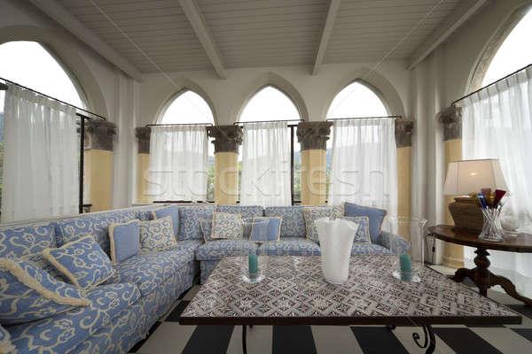 Prestigious livingroom interior Stock photo © alexandre_zveiger