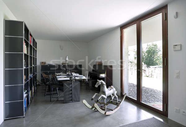Intérieur bureau modernes maison maison Photo stock © alexandre_zveiger
