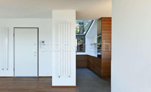 新しい インテリアデザイン アパート 現代 入り口 ドア ストックフォト © alexandre_zveiger