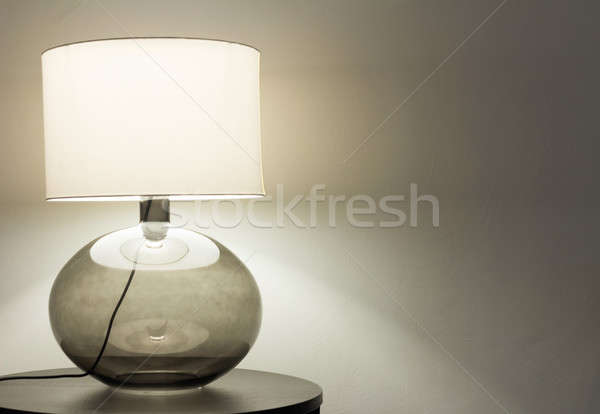 Interior, table lamp Stock photo © alexandre_zveiger