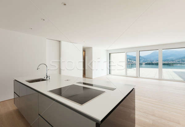 Beautiful penthouse Stock photo © alexandre_zveiger
