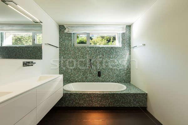 Interior of modern house, bathroom Stock photo © alexandre_zveiger