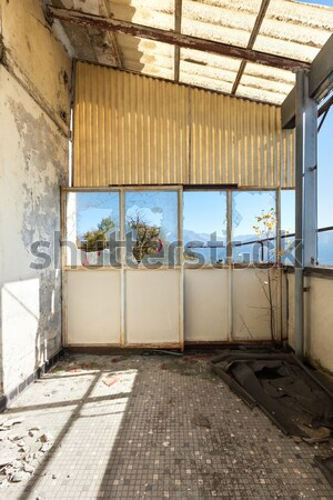 捨てられた 家 アーキテクチャ 建物 壁 ホーム ストックフォト © alexandre_zveiger