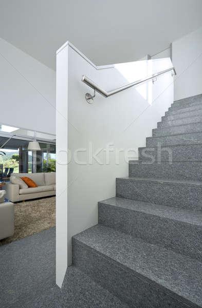 Lujoso Villa interior salón nuevos diseno interior Foto stock © alexandre_zveiger
