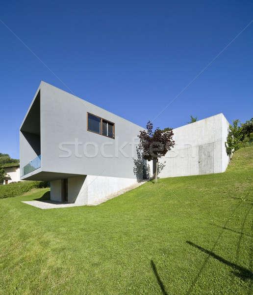 Estilo moderno Villa moderna casa naturaleza Foto stock © alexandre_zveiger