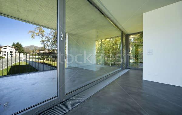 новых интерьер квартиру современное здание интерьер небе Сток-фото © alexandre_zveiger