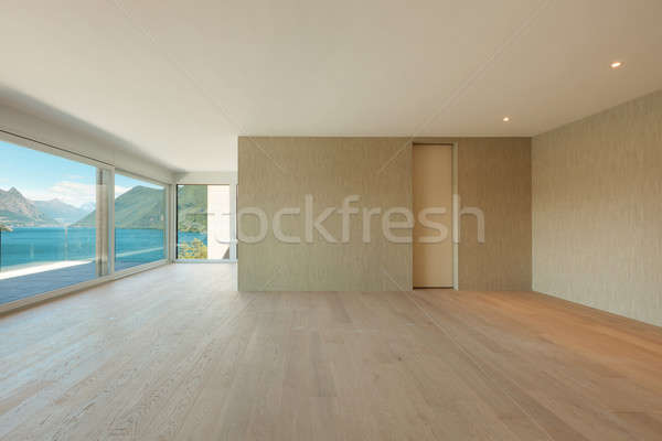 beautiful modern house, interior Stock photo © alexandre_zveiger