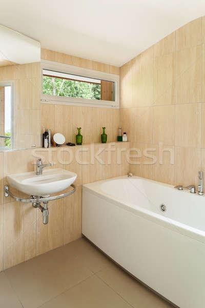 Interior, bathroom  Stock photo © alexandre_zveiger