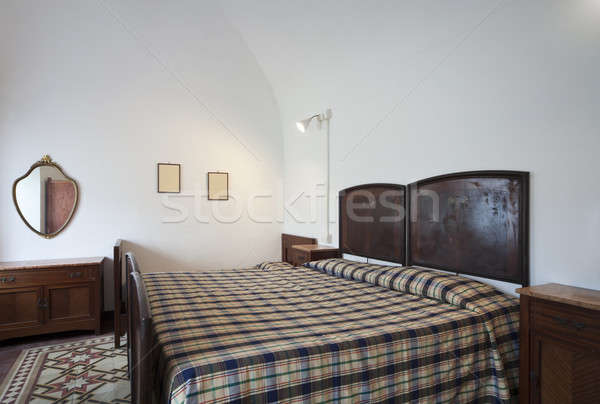 vintage bedroom interior Stock photo © alexandre_zveiger