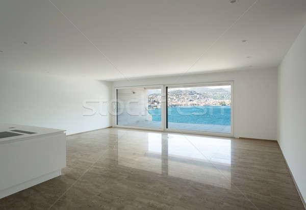 インテリア 空っぽ アパート 大理石 階 広い ストックフォト © alexandre_zveiger