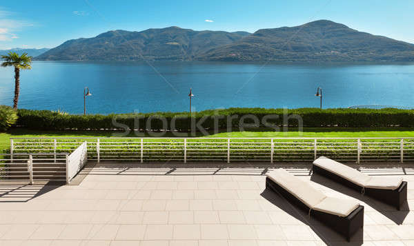 terrace of a penthouse Stock photo © alexandre_zveiger