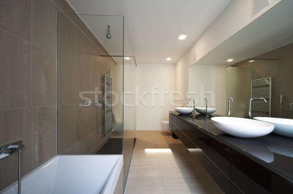 Intérieur belle nouvelle appartement maison Photo stock © alexandre_zveiger
