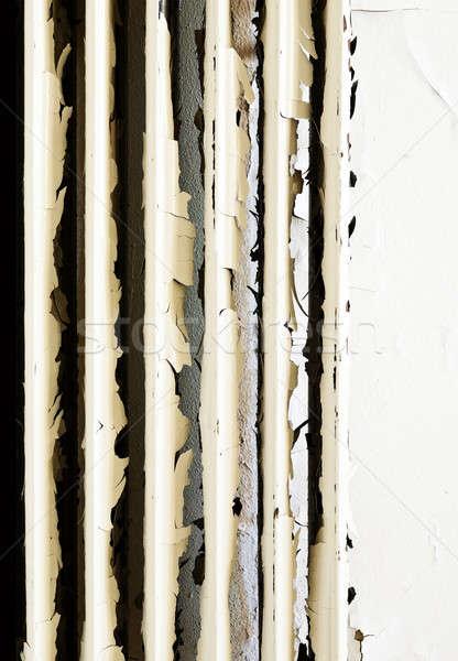 заброшенный дома архитектура старые ржавые радиатор Сток-фото © alexandre_zveiger