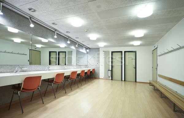 Dressing bien rangé élégant bâtiment affaires intérieur Photo stock © alexandre_zveiger