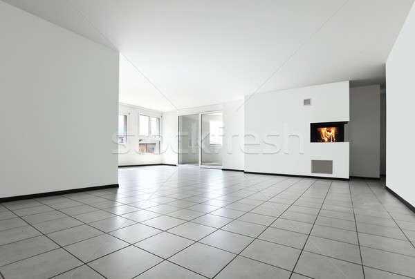 現代の 家 しない インテリア 現代 アパート ストックフォト © alexandre_zveiger