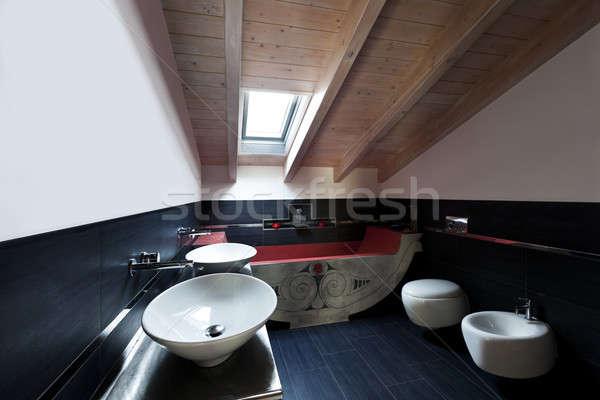 interior bathroom Stock photo © alexandre_zveiger