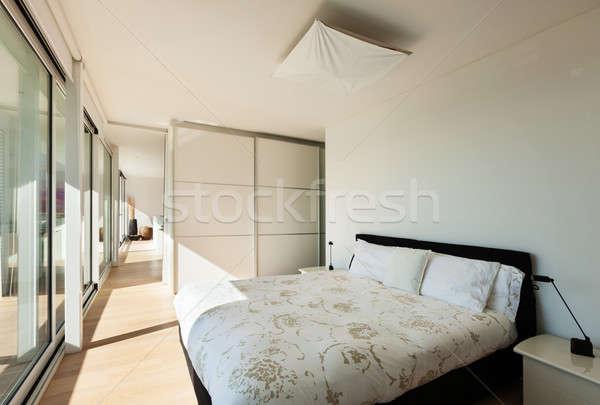 Interior moderna casa Villa vista diseno Foto stock © alexandre_zveiger