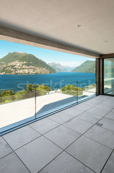современное здание балкона интерьер квартиру мнение дизайна Сток-фото © alexandre_zveiger