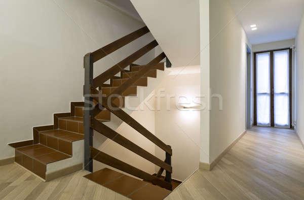 Современная архитектура новых квартиру интерьер дома дизайна Сток-фото © alexandre_zveiger