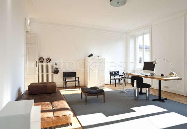 ヴィンテージ アパート スタジオ オフィス 家 壁 ストックフォト © alexandre_zveiger