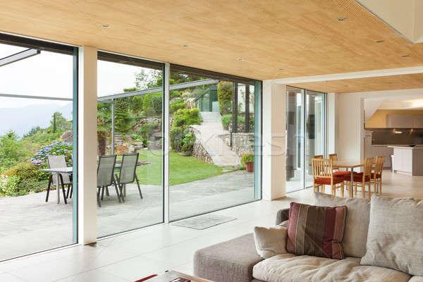 nterior, living room room, veranda view Stock photo © alexandre_zveiger