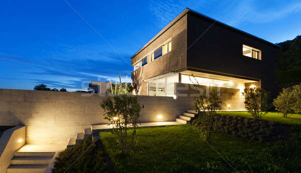 Architecture modern design, house, outdoor Stock photo © alexandre_zveiger