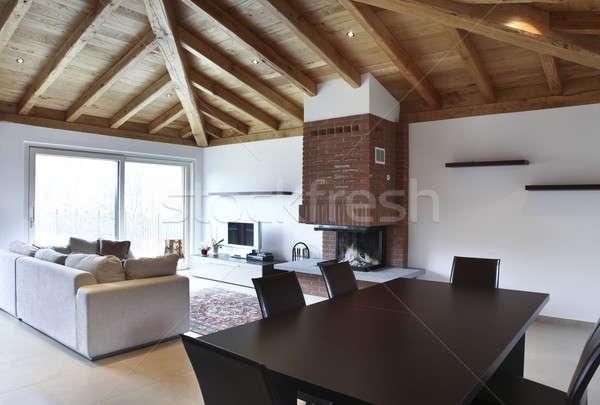 Nuova casa interni villa moderno appartamento Foto d'archivio © alexandre_zveiger