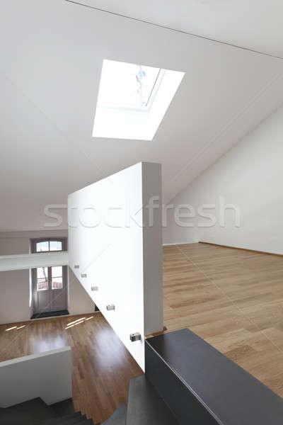 Modernes appartement design grenier architecture vide Photo stock © alexandre_zveiger