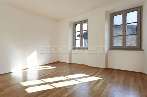 Modernes appartement design grenier architecture salon Photo stock © alexandre_zveiger