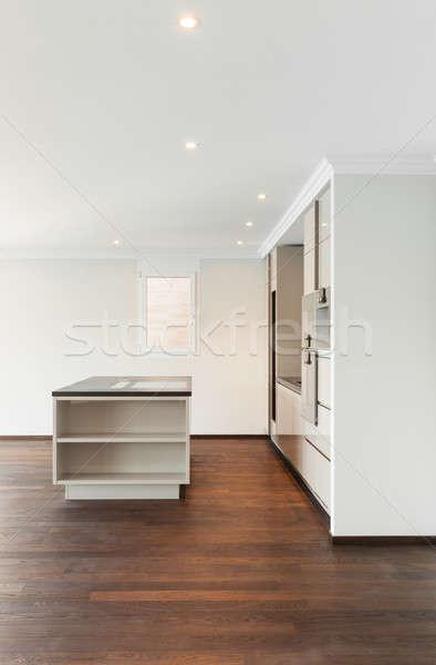Moderne mooie lege appartement Stockfoto © alexandre_zveiger