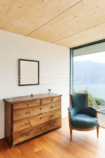 mountain house, interior Stock photo © alexandre_zveiger