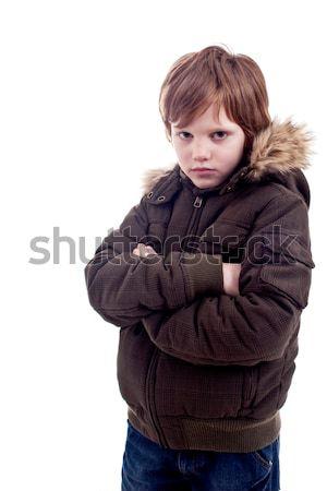 Cute boy sad Stock photo © alexandrenunes