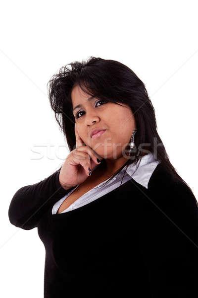 large latin woman Stock photo © alexandrenunes