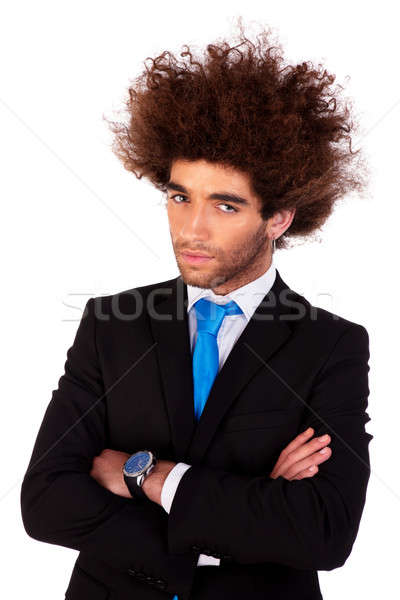 Portrait of a happy, handsome and young  business man i Stock photo © alexandrenunes