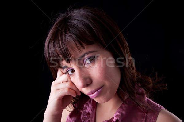 Sad women Stock photo © alexandrenunes