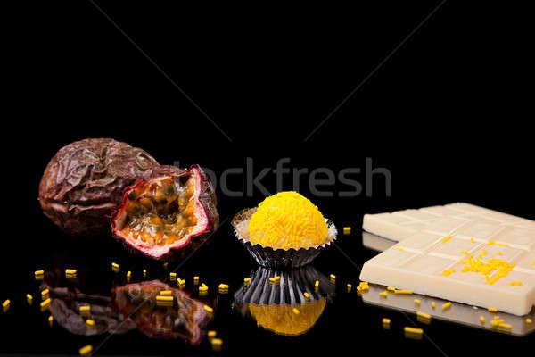 chocolate - brigadier of passion fruit Stock photo © alexandrenunes