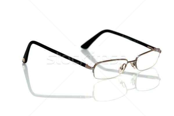 óculos isolado branco médico fundo idoso Foto stock © alexandrenunes