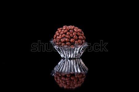 chocolate - brigadier with nuggets Stock photo © alexandrenunes