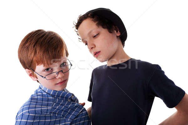 a teen beating a child, Stock photo © alexandrenunes