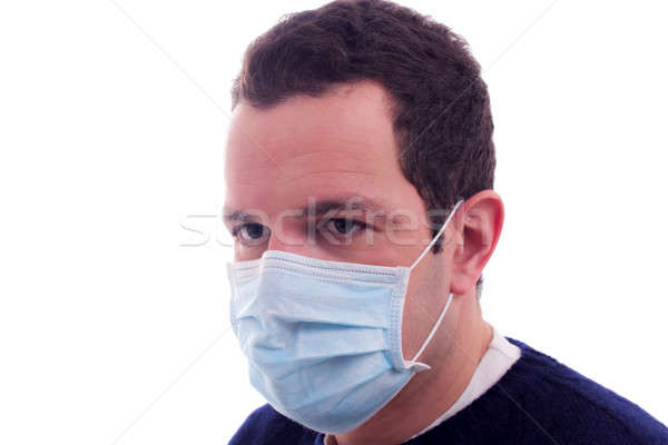 man with a medical mask Stock photo © alexandrenunes
