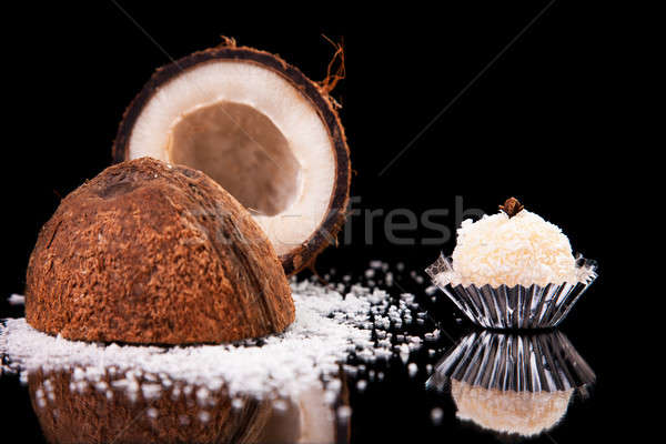 chocolate - brigadier ok coconut Stock photo © alexandrenunes