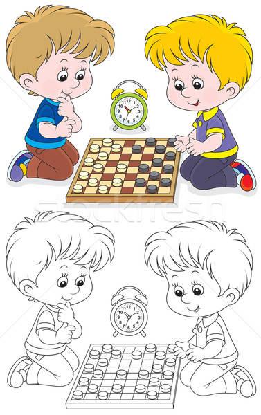 Сток-фото: детей · играть · мало · мальчики · играет · мальчика