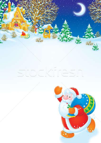 Santa Claus Stock photo © AlexBannykh