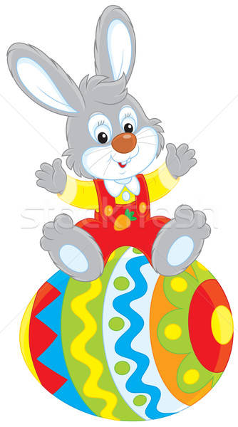 Easter Bunny Stock photo © AlexBannykh