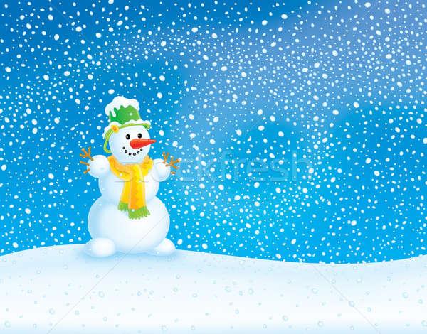 Winter background  Stock photo © AlexBannykh