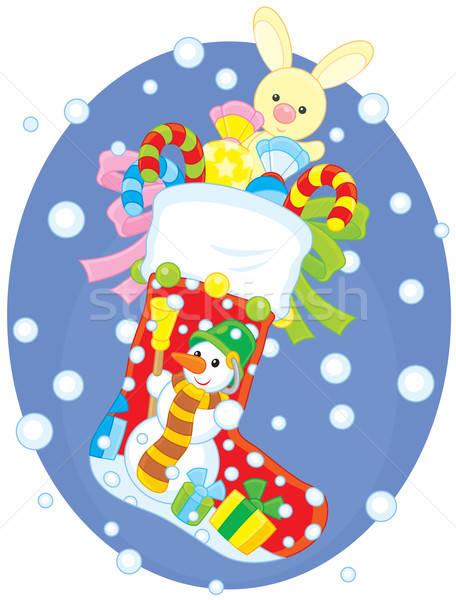 Christmas sock  Stock photo © AlexBannykh