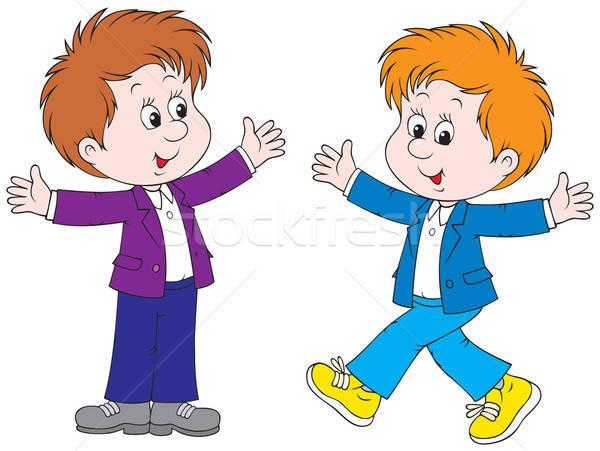 двух для картинка детей мальчиков
