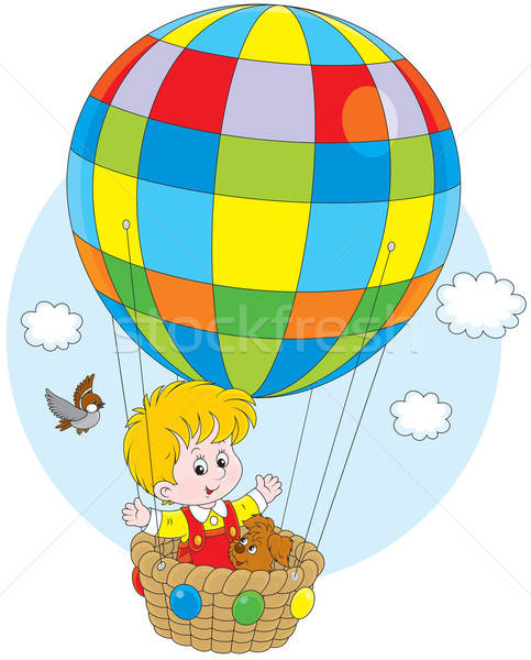 Воздушный шар рисунок для ребенка