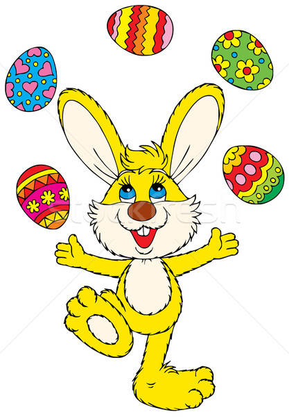 Happy Easter! Stock photo © AlexBannykh